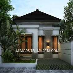 Trendy home exterior small house plans Ideas Minimalist House Design, Small House Design, Modern House Design, Small Floor Plans, Small House Plans, 3d Home, Loft House, Home Design Plans, Trendy Home
