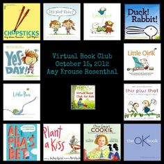 Mark your calendars: Virtual Book Club for Kids {Amy Krouse Rosenthal} October 15th