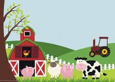 Free Printable Farm Animals Birthday Invitation Template Free for sizing 1500 X 1071 Farm Birthday Party Invitation Template - If It regards the Farm Animal Party, Farm Animal Birthday, Farm Birthday, Free Printable Birthday Invitations, Farm Animals, Bernardo, Templates Free, Binder, Party Supplies