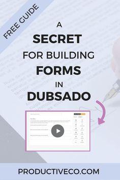 140 Best Dubsado Workflows Setups Images On Pinterest In 2019
