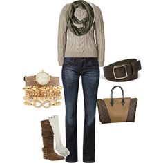"""Cool Weather"" by mandy-hubbs-shaw on Polyvore   #Fall #Fall Clothing #Fall Style 2013"