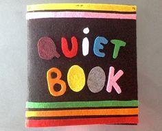 L'idée est de réaliser un livre pour que votre enfant de moins de 3 ans vous laisse tranquille 10 minutes et s'occupe en silence avec des petits exercices.