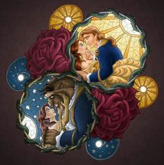 Beauty and the beast- Belle and adam