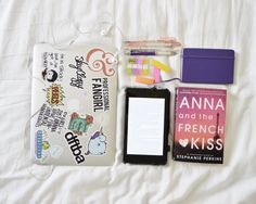 essentials for a bibliophile.