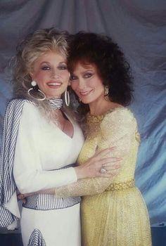 """Loretta Lynn & Dolly Parton...""""The Grand Old Opray"""""""