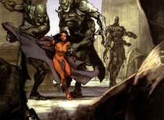 We are extremely excited about the new John Carter film - and we are even more excited about Spectrum Fantastic Art Live! Special Guest Iain McCaig& concept art for the film. Sci Fi Fantasy, Dark Fantasy, Pulp Fiction, Science Fiction, Norman, A Princess Of Mars, Art Visionnaire, Sci Fi Comics, Sketches