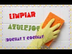 Hágalo fácil: limpiar azulejos ( pisos y paredes de la ducha) - YouTube