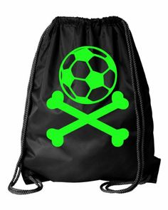 Gift idea Black Soccer Ball and Crossbones Drawstring DuroCord Bag (Black) SALE - http://www.buyinexpensivebestcheap.com/14450/gift-idea-black-soccer-ball-and-crossbones-drawstring-durocord-bag-black-sale/?utm_source=PN&utm_medium=marketingfromhome777%40gmail.com&utm_campaign=SNAP%2Bfrom%2BOnline+Shopping+-+The+Best+Deals%2C+Bargains+and+Offers+to+Save+You+Money   Activewear Apparel, Best Gym Bag, Best Gym Bags, Drawstring Bags, Gym Bag, Gym Bags, Gym Bags For Women, Gym Spo