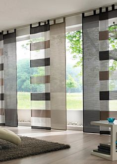 12 Fancy Window Treatment For Patio Doors Ideas Sliding Curtains, Home Curtains, Curtains Living, Living Room Windows, Curtains With Blinds, Panel Curtains, Patio Door Blinds, Blinds For Windows, Patio Doors
