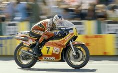 Barry Sheene 2x 500cc World Champion 1976 1977.