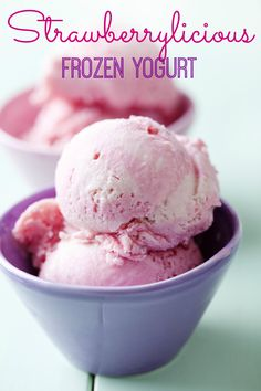Healthy strawberry frozen yogurt in 5 minutes sounds almost too good to be true, once you try this recipe, made with no added sugar and protein packed greek yogurt, theres no going back to the store bought stuff.