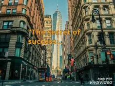 The Secret of Success - Motivational Video