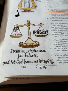 Bible journaling job 31