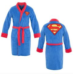 Superman Terry Cloth Robe
