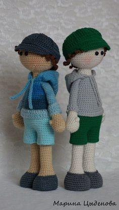 Muñecos con choto