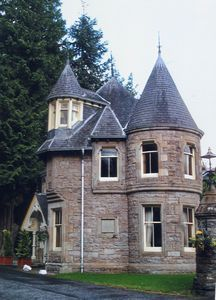 Tower cottage, Pitlochry, Scotland