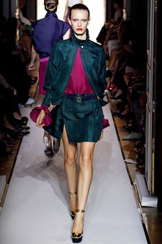 Yves Saint Laurent Spring 2012 Ready-to-Wear