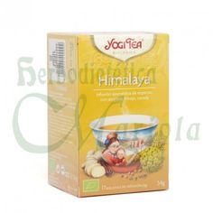 Yogi Tea, Infusión Ayurvédica Ecológica Himalaya, una receta herbal con gran tradición que recoge la energía contemplativa de la majestuosa cordillera del Himalaya.