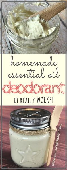Finally, a homemade natural deodorant that really works! Stops the stink and keeps you smelling fresh. Summer tested and husband approved. {DIY essential oil deodorant recipe} #essentialoils #essentialoilrecipe #homemadedeodorant #DIYdeodorant #essentialoildeodorant #essentialoilDIY #naturalDIY #naturalbeauty #naturaldeodorant