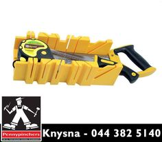 The #Prowin Mitre Box Set, available from #PennypinchersKnysna contains a selection of tools designed for the precision cutting of a wide range of materials. Visit us or contact us on 044 382 5140. #DIY