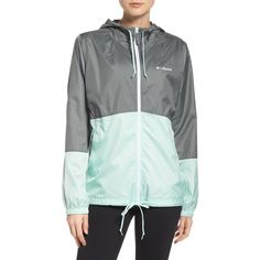 Women's Columbia Flash Forward Windbreaker Jacket ($60) ❤ liked on Polyvore featuring activewear, activewear jackets, columbia sportswear, columbia activewear and columbia