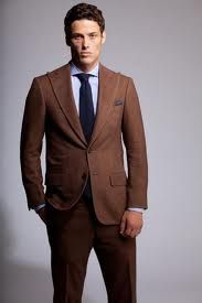 A2.2 - Brown Suit for Tobias, Green or White Undershirt (NO BLUE)