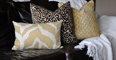 brown animal print pillows | Beautiful Animal Print Home Decor Pillow Cover -20x20-Chocolate Brown ...