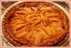 cream pies, peach