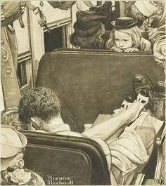NORMAN ROCKWELL // 1944