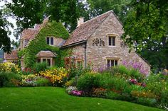 oude engelse cottage wallpaper - ForWallpaper.com