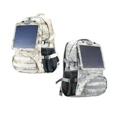 Hitech Ninja Solar Bags – Stay In Charge Solar Powered Backpack 71b8826a12a85