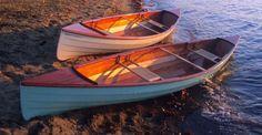 Sassafras 12 Pack Canoe: 26-pound Lapstrake Double-Paddle Canoe That You Can Build!