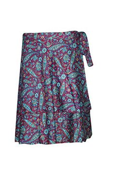 Women's Wraps Skirt Pink/Blue Printed Premium Silk Sari R... https://www.amazon.com/dp/B01KPW05ZM/ref=cm_sw_r_pi_dp_x_VUn.yb8DYHH0P