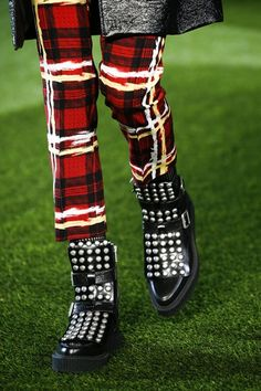 Marc by Marc Jacobs - Autumn/Winter 2015-16 - Studded Creepers