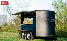 From elevated cocktail parties and weddings, to backyard bar-b-q's, our team can help you create a beverage program that is perfect for your next event. Catering Trailer, Bar Catering, Food Cart Design, Food Truck Design, Coffee Carts, Coffee Truck, Coffee Van, Coffee Shop, Bar Mobile