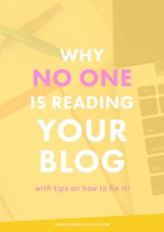 5 Reasons Why No One's Reading Your Blog (And How to Fix Them) | Having trouble growing your audience? Here are five tips and reasons why your blog might not be growing.