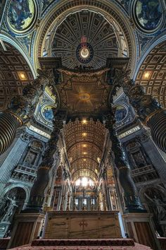 The Papal Altar, St. Peter's Basilica, Rome