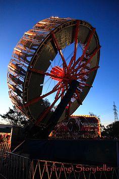 Balloons Over Waikato, Hamilton, New Zealand, Scream Machine, carnival, rides, photography