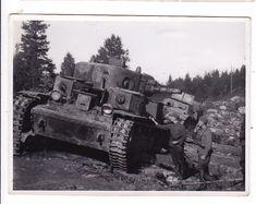 VANHA Rintama Valokuva CCCP Panssarivaunut 8,5 x 11 cm - Huuto.net Finland, Military Vehicles, Tanks, History, Historia, Army Vehicles, History Books, History Activities, Thoughts