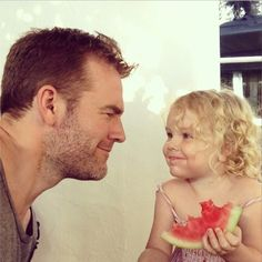The 10 Most Charming Celebrity Instagrams from Father's Day - James Van Der Beek from #InStyle