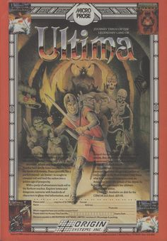 Ultima - Loved these.