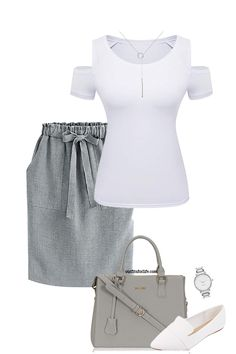 Whether you're looking for outfits for work, date outfits, plus size outfits, or casual outfits we have you covered. We even find the items for you so you can spend your time on better things like binge watching Netflix! Casual Work Outfits, Business Casual Outfits, Professional Outfits, Cute Outfits, Modest Fashion, Fashion Outfits, Womens Fashion, Fashion Edgy, Fashion Black