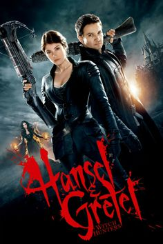Hansel and Gretel: Witch Hunters from Tommy Wirkola with Jeremy Renner as Hansel Films Hd, Hd Movies, Horror Movies, Movies To Watch, Movies Online, Movies And Tv Shows, Movie Tv, Film D'action, Bon Film