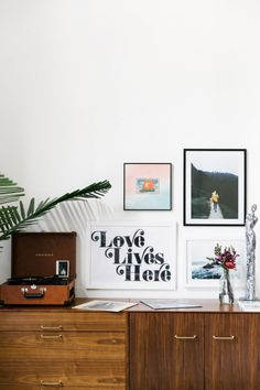 "Fletcher learned first-hand the importance of starting your decorating process well ahead of your move-in date: ""For the first month that we lived in our house together we had no furniture,"" she..."