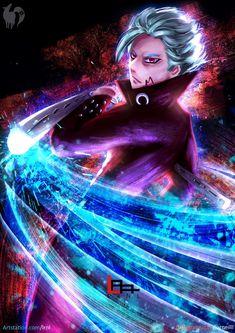 Nanatsu no Taizai ( Seven Deadly Sins) by lrnl on DeviantArt Otaku Anime, Anime Art, Seven Deadly Sins Anime, 7 Deadly Sins, Meliodas Vs, Demon King Anime, Ban Anime, 7 Sins, Seven Deady Sins