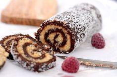 Raw Vegan, Raw Food Recipes, Sushi, Gluten Free, Sweets, Foods, Baking, Healthy, Cake