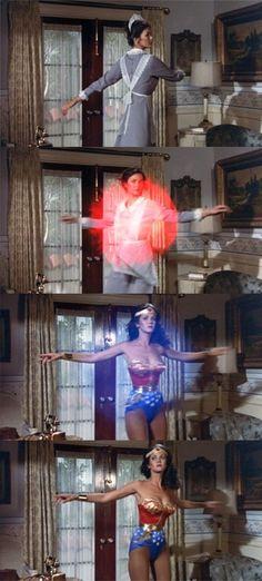 Linda Carter, Wonder Woman. My idol when I was little!