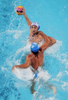 Water Polo. Toughest Sport in the World.Wow i did not realize that it was officially the toughest sport,