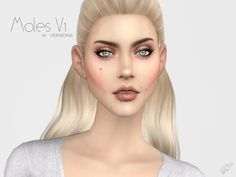 Sims 4 CC's - The Best: Moles V1 by Ms Blue