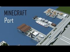 Minecraft Modern City - YouTube Minecraft Modern City, Minecraft City Buildings, Minecraft Structures, Minecraft Houses Blueprints, All Minecraft, Minecraft House Designs, Minecraft Construction, Minecraft Architecture, Minecraft Creations